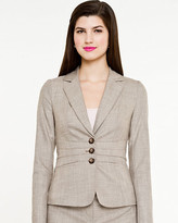Le Château Crosshatch Fitted Blazer