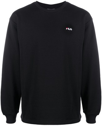 Fila Logo-Embroidered Sweatshirt