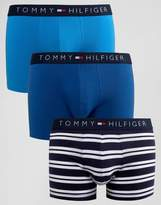 Tommy Hilfiger Icon Trunks In 3 Pack