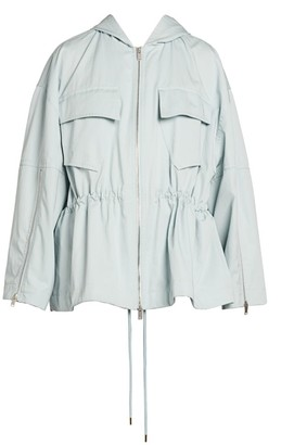 Stella McCartney Caban Cotton Cargo Jacket