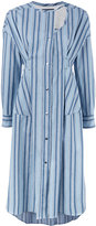 Isabel Marant Selby deconstructed shirt dress - women - Cotton - 40