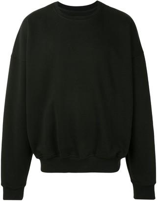 SONGZIO Signature Embroidered Motif Sweatshirt