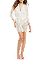 Hanky Panky Alexandra Scalloped Chantilly Lace Robe