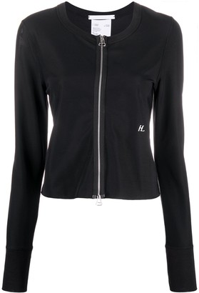 Helmut Lang Zipped Fitted Jacket
