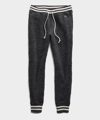 Todd Snyder + Champion Polartec Sweatpant in Heather Charcoal