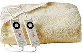 Dreamland Premium Fleece Heated Underblanket Kingsize with 2 Controls, White