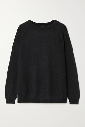 Max Mara Leisure Geode Mohair-blend Sweater - Black