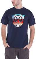 Transformers T Shirt Autobot Shield Distressed new Official Hasbro Mens
