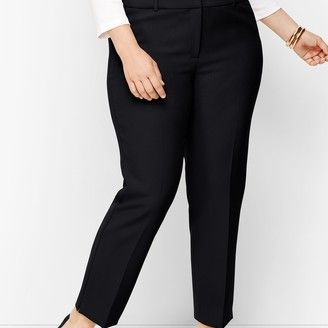 Talbots Plus Size Hampshire Ankle Pants - Solid