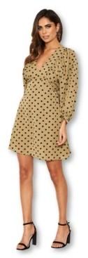 AX Paris Women's Polka Dot Printed Dress