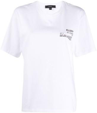Ellery script print T-shirt
