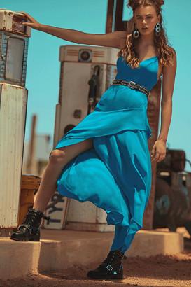 Girls On Film Oxygen Layered Wrap Dress