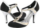 Bomb Black/Gold Satin - Footwear
