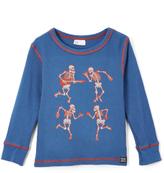 Nano Denim & Red Skeletons Thermal Tee - Infant, Toddler & Boys