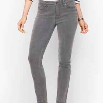 Talbots Slim Ankle Jeans - Cadet Grey