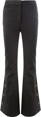 Ellery Flared Button Trousers