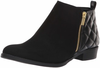 Nine West Girls' Cahra Zip Ankle Boot