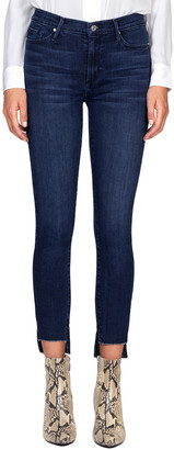 Black Orchid Miranda Off Step High Rise Skinny Leg