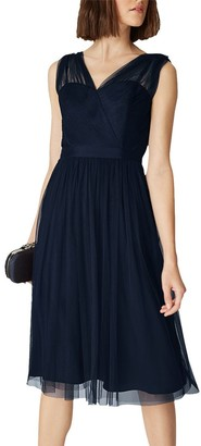 Phase Eight Romy Tulle Dress, Navy