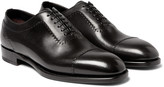 Brioni - Black Leather Oxford Shoes
