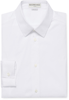 Balenciaga Spread Collar Buttoned Dress Shirt