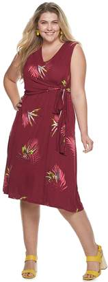 Apt. 9 Plus Size Easy Plus A-Line Dress With Knot Detail