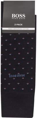 BOSS Egyptian Cotton Socks (Pack of 2)