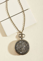 ModCloth Turn Back Time Necklace in El Prado
