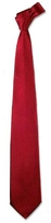 Forzieri Solid Red Extra-Long Tie