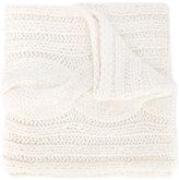 Maison Margiela cable knit scarf - women - Acrylic/Wool/Alpaca - One Size