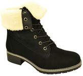 Wild Diva Lounge Bristol Faux Fur Boot