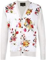 Loveless floral panel cardigan
