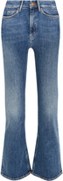 MiH Jeans Marty cropped high-rise flared jeans