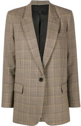 Nili Lotan Prince of Wales check blazer