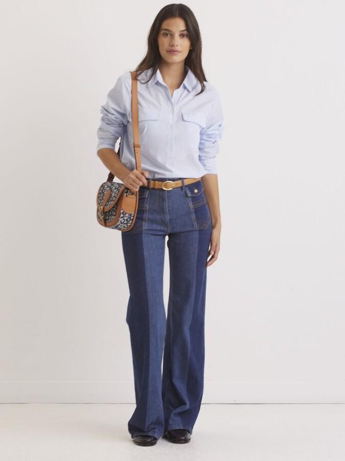 Thumbnail for your product : Gerard Darel Pantalon Jeans, Blue