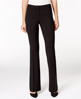 Alfani Petite Straight-Leg Trousers, Only at Macy's
