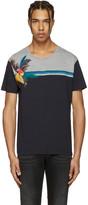Valentino Navy Parrot & Tree T-Shirt