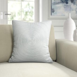 Austin Horn Classics Spiral Luxury Embroidered Silk Throw Pillow