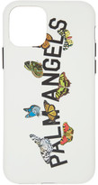 Palm Angels Grey Butterfly College iPhone X Case
