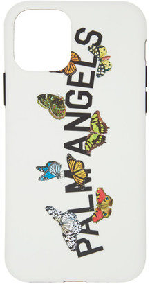 Palm Angels White Butterfly College iPhone 11 Pro Case