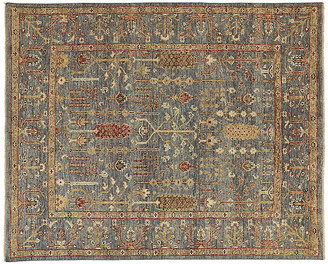 "One Kings Lane Selman Rug - Blue/Rust - 5'6""x8'6"""