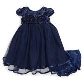 Pippa & Julie Cap Sleeve Dress (Baby Girls)