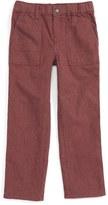 Tea Collection Stripe Dress Pants (Toddler Boys & Little Boys)