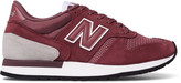 New Balance - 770 Suede, Leather And Mesh Sneakers