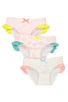 Cotton On Girls Ruffle Undie Pack