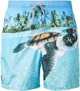MC2 Saint Barth printed swim shorts - men - Polyamide/Polyester/Spandex/Elastane - S