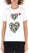 Comme des Garcons Camouflage Heart T-Shirt