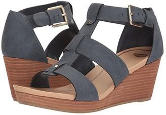 Dr. Scholl's Barton (Grey Snake Print) Women's Shoes