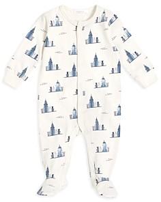 FIRSTS BY PETIT LEM Boys' New York Skyline Footie - Baby