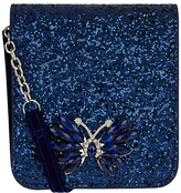 Monsoon Diamante Butterfly Glitter Bag